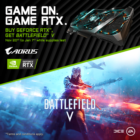 Battlefield V: AORUS GeForce RTX Game Bundle