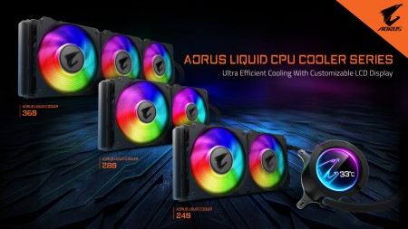 GIGABYTE Goes All-In-One With New AORUS LIQUID COOLER Series